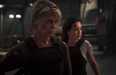 Escena de la película Terminator  Dark Fate.
