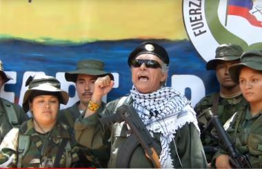 Santrich en su discurso en el video conocido ayer.