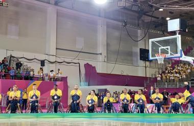 La Selección Colombia de baloncesto en silla de ruedas logró un bronce.
