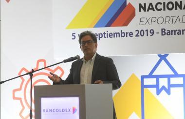 Alberto Carrasquilla, ministro de Hacienda.