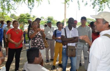 Líderes de base de la Mesa Municipal de Víctimas de Sucre.