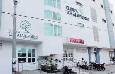 Clínica Los Almendros, centro donde falleció la bebé.