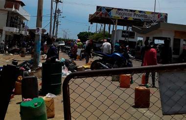 Zona fronteriza con Colombia, en el corregimiento de Paraguachón en La Guajira.