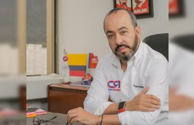 El director de Cambio Radical, Germán Córdoba