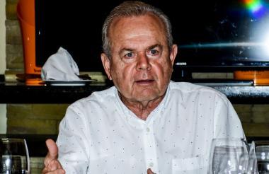 Ricardo Plata, presidente del Comité Intergremial del Atlántico.
