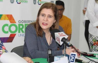 Sandra Devia.