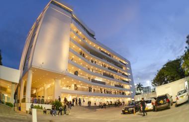 Sede de la Universidad de la Costa en Barranquilla.