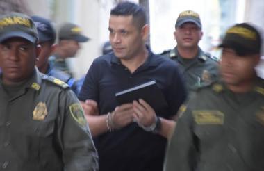 Raúl Danilo Romero Pabón, condenado.