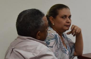 Manuel Cadrazco y su esposa Milagro Piedad Martelo.