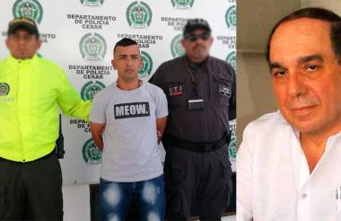 Jaider Hernán Acuña Barrios capturado por la Policía.