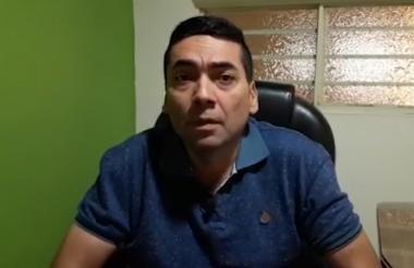 Bernardo Betancourt Orozco, candidato a la Alcaldía de Tibú asesinado ayer.