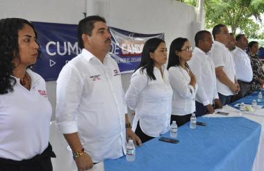 Candidatos en Polonuevo.
