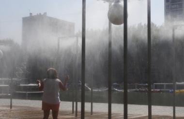 Agosto de 2019 ha sido uno de los meses más calurosos en la década.