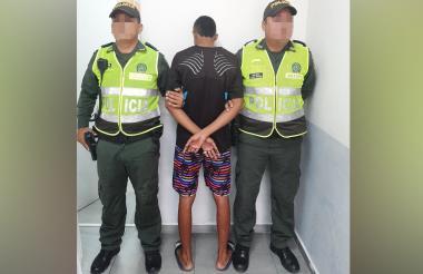 El menor capturado fue trasladado al del  Centro de Servicios Judiciales para adolescentes, CESPA.