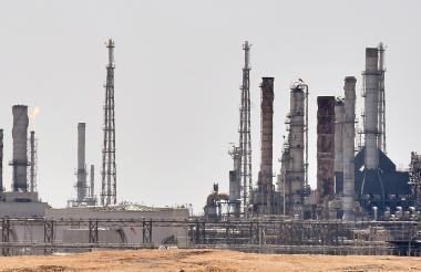 Planta de petroleo en Arabia Saudita.