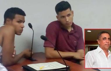 Nolvis Murillo y Adrián Garmendia, presuntos asesinos de Walfran Suárez Infante.