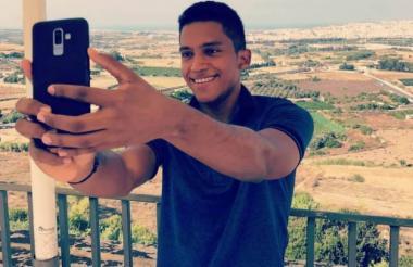 Pablo Muñoz Padillal, joven cesarense ahogado en Malta.