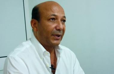 El dirigente y líder arrocero José Ramón Molina Peláez, quien también es el presidente de Asoranchería.
