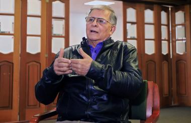 El excomandante y encargado de relaciones internacionales de la exguerrilla Farc, Rodrigo Granda.
