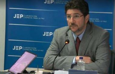 David Char Navas fue el primer ex congresista admitido por la JEP para que se acoja a los beneficios.