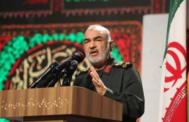 El comandante de la Guardia Revolucionaria iraní, mayor general Hossein Salami.