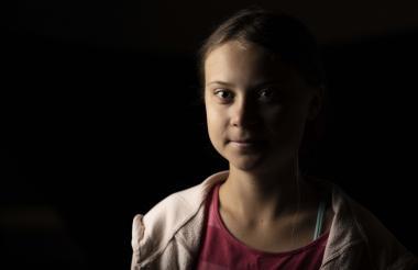 Greta Thunberg, de origen sueco, es activista de la lucha contra el cambio climático.