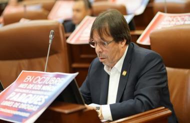 César Lorduy, representante a la Cámara.