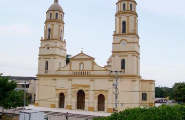 Plaza principal de Sabanalarga, en donde se realizarán varios eventos.
