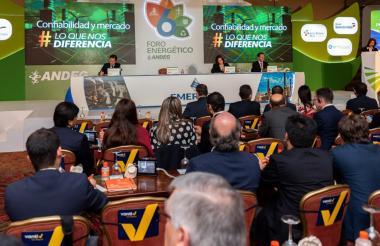 El foro energético es organizado por Andeg en Bogotá.