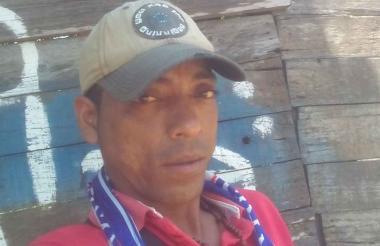 José Luis Montes Meriño, de 35 años, asesinado.