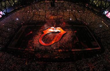 The Rolling Stones tienen el record del escenario más grande y en una extraordinaria forma.
