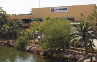 Instalaciones de Cardique en Cartagena.
