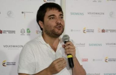 Jaime Pumarejo, candidato a la Alcaldía de Barranquilla.