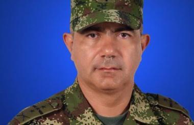 El general Oswaldo Peña Bermeo.