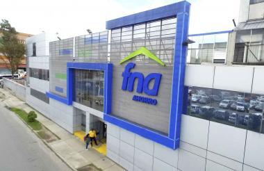 Fachadas de las oficinas del FNA en Bogotá.