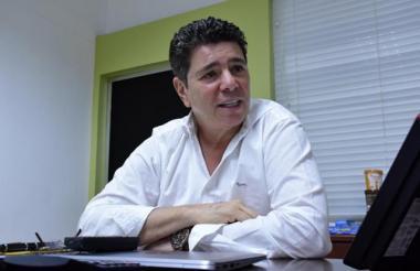 Jimmy Char, presidente de la Federación Colombiana de Béisbol (FCB).