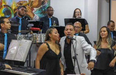 La Orquesta Pacho Galán Big Band lanzará este viernes el sencillo 'Palo carnavalero'.