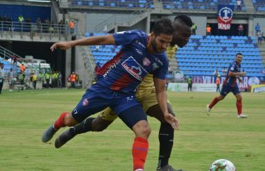 El brasilero Lucas Sotero aún no logra meterse en el andamiaje del equipo bananero, no da lo que se espera de él.