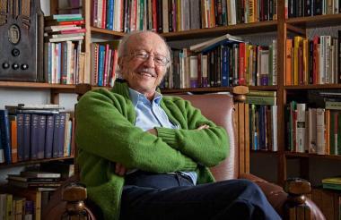 El periodista colombiano Javier Darío Restrepo, ganador de múltiples reconocimientos por su labor.