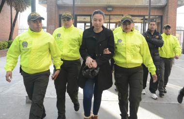 La audiencia de Aida Victoria Merlano Manzaneda, hija de la excongresista, continuará este martes.