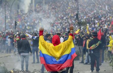 Protestas en Quito