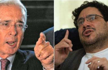 Álvaro Uribe Vélez e Iván Cepeda.