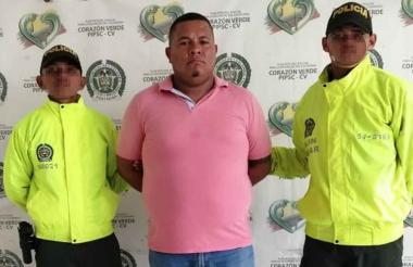 El capturado por violencia intrafamiliar Luis Martínez Vanegas, de 46 años, fue llevado a audiencias preliminares en los juzgados del municipio de Soledad.