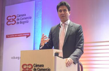 El presidente de Bancóldex, Javier Díaz Fajardo.