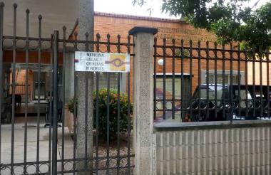 Fachada de Medicina Legal en Córdoba.