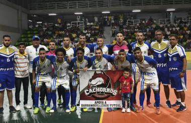 El quinteto de Barranquilleros es uno de los grandes animadores y referentes de la Liga Nacional Futsal.