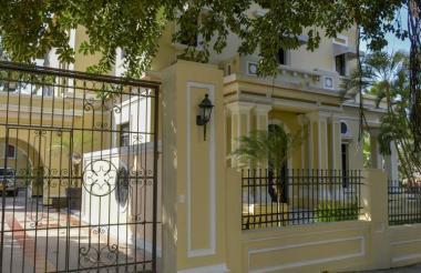 Sede Prado de la empresa de acueducto, alcantarillado y aseo de Barranquilla.