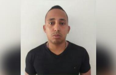 Elkin Cera López, presunto asesino.