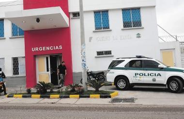 Yanklis Enrique Guerrero Bonilla fue llevado al Paso La Manga, donde fue atendido.