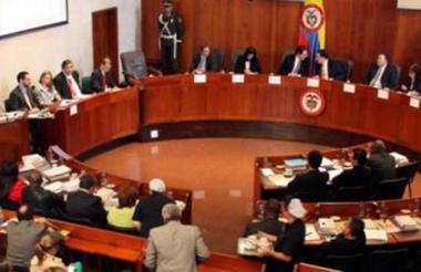 Magistrados de la Corte Constitucional.